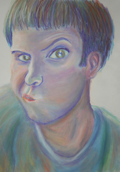 Pastel Self Portrait